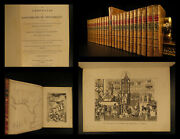 1808 Exquisite Froissart And Monstrelet Chronicles Medieval 100 Years War 25v Set