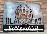 Your Business Logo Or Artwork - Custom Metal Sign