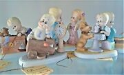 Lot Of 5 Vtg Possible Dreams Gt And Friends Figurines C. 1983 Vguc
