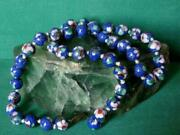 Antique Vintage Chinese Cloisonne Enamels Womenand039s Jewelry Necklace Beads