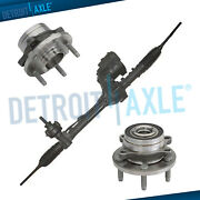 Electric Steering Rack And Pinion+front Wheel Hub Bearing 2013-2016 Ford Explorer
