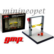 Gmp 14312 Parts And Accessories Two Post Lift For 1/43 Diecast Model Car Grey