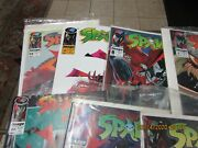 Early Spawn Lot Of 8 Comic Books In Mint Shape