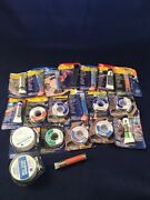 Alpha Fry Soldering Wire Rosin Core Lot Of 20 Solder Flux Brushes More
