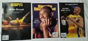 Kobe Magazines Sold Out Espn, Sports Illustrated, L.a. Times Special Editions