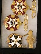 Odd Fellows 25 50 Year And Patriarchs Militant Medal