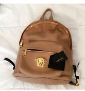 Versace Leather Backpack Limited Edition Exclusive