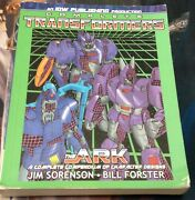 Transformers The Complete Arc Both G1 Design Bibles Very Out Of Print Idw