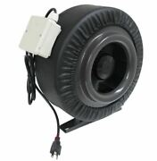 New 12 1200cfm Inline Duct Booster Fan Air Cool Hydroponic Blower Exhaust Vent