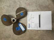 Bronze Lh 14 X 14p Propeller Tapered 1 1/4 Bore Has Been Scanned 3484