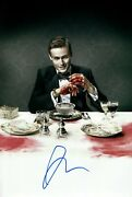 Douglas Booth Signed Autogramm 20x30cm Prejudice And Zombies In Person Autograph