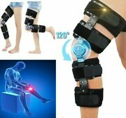 Leg Knee Bracket Joint Pain Support Ligament Fracture Sprain Support Orthosis