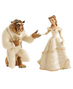 Lenox Disney Belle And The Beast Figurines Beauty My Hand My Heart Is Yours New