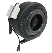 8 720cfm Inline Duct Booster Fan Air Cool Hydroponic Grow Blower Exhaust Vent