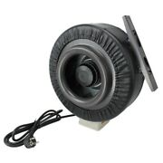 6 Inline Duct Booster Air Blower Hydroponic Grow Blower Fan Of 440 Cfm