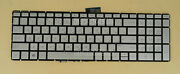 New For Hp Home 17-bs000 17t-bs000 17-ar000 Keyboard Arabic And Us Backlit Silver