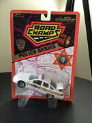 Road Champs Illinois State Police Car Chevy Caprice 1/43 O Scale