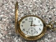 Antique 1900s 14kt Sold Gold Longines Private Label Pocket Watch.
