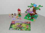 Used Lego Friends Olivia's Tree House 3065 - 100 Complete, 2 Extra Minifigs