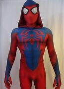 High Quality New Scarlet Spider-man Pattern 3d Printing Costume