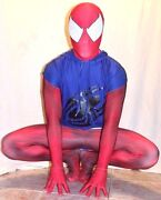 New Scarlet Spider-man 3d Printing With The Muscle Shading Costume