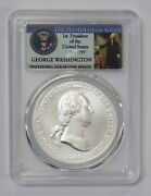2018 George Washington 1789 Silver Medal Pcgs Ms70 First Day Of Issue