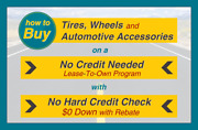 How To Buy 345/45r24 Tires On A No Credit Needed Lease-to-own Program