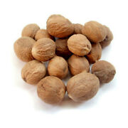 Whole Dried Nutmeg, Grade A Quality, Organic Pure Herbs And Spices Premium Free