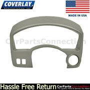 Coverlay Instrument Cluster Panel Cover Taupe Gray 10-515ic-tgr 04-15 For Titan