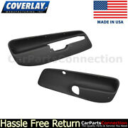Coverlay Door Panel Front Inserts Black 17-94f-blk 99-04 For Jetta,gl,vr6,wagon