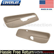 Coverlay Front Door Panel Inserts Medium Brown 17-94f-mbr 1999-2004 For Jetta,gl