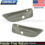 Coverlay Rear Door Panel Inserts Taupe Gray 17-94r-tgr 99-04 For Jetta,vr6,wagon