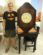 Very Rare Antique 1780 Huge 24 Lbs. French Boulle Banjo Barometer Museum Piece