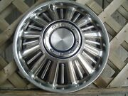 One 1967 67 Ford Fairlane Galaxie Hubcap Wheelcover Center Cap Antique Vintage