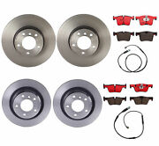 Brembo Front And Rear Brake Kit Ceramic Pads Coat Disc Rotors For Bmw F22 F30 F32