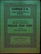 Glendining Numismatic Auction Cat. 1961 A. H. Hird English Gold Coins