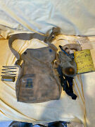 Original Us Wwi 77th Division Trench Art Gas Mask Complete