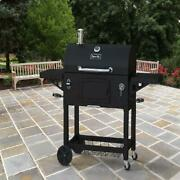 Charcoal Grill Extra Large Heavy Duty 2 Cooking Area Outdoor Backyard Bbq Burger