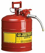 Jerry Can 5 Gallon 20l Gas Fuel Army Nato Military Metal Steel Tank Holder Spout