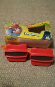 Lot Of Vintage Viewmaster 3d Viewers Sesame Street 1986 Box Set 2 Viewers