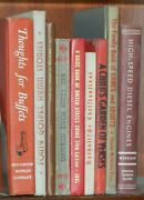 9-vintage Decorative Book Lot 1932-1981 Fiction Religion Reference And School