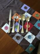 Milano By Buccellati Sterling Silver Flatware 5 Piece Place Setting Gently Used