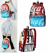 Coca-cola X Lesportsac Backpack Carson Backpack Coke Collage Fast Ship Japan Ems