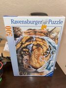 Ravensburger Valley Of The Tiger 500 Piece Jigsaw Puzzle New Nib Rare Germany