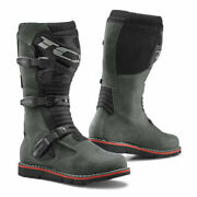 Tcx Terrain 3 Gris Cuir Impermandeacuteable Adventure Moto Motocycle Bottes