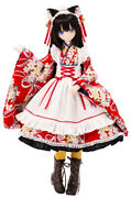Alice Time Of Grace Iv Taisho Roman Black Cat Rondo Azone Doll From Japan F/s