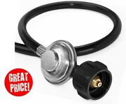 Propane Gas Grill Hose And Regulator For Weber Genesis Series 2ft 3,5ft