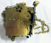 Hermle Movement 261-030a From Pendulum Clock 45cm Chain 101.851 For Spare-parts