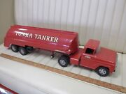 1959 Tonka Ford Tonka Tanker Transport Truck And Trailer Toy