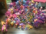 My Little Pony Lot - Holiday Sale - Massive Lot Hundreds Collectible Pieces